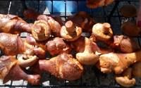 Копчёные грибы