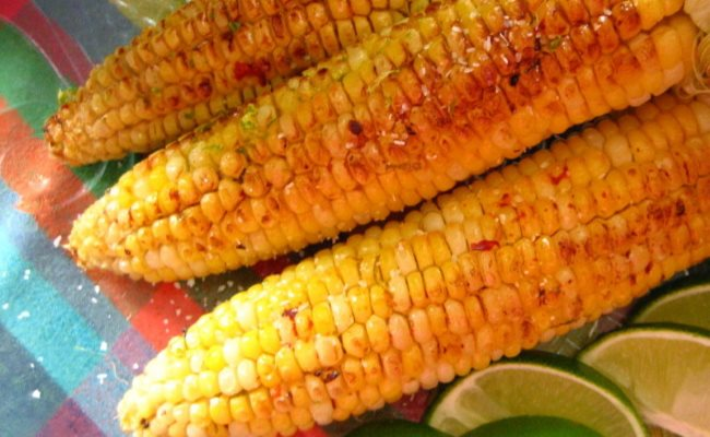 Копчёная кукуруза